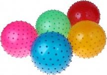 Мяч массажный d=30 см 100гр матовый
