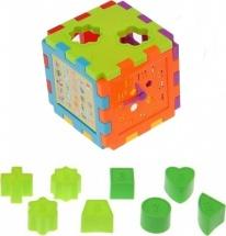 """Сортер """"Куб"""" с фигурками логический"""
