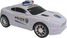 Машинка полицейская иннерционная 19х8х7
