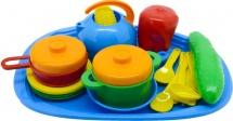 Набор посуды с подносом Орион