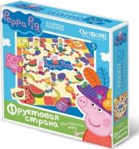 """Игра-пазл Origami """"Peppa Pig. Фруктовая страна"""""""