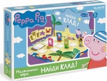 """Игра настольная Origami """"Peppa Pig. Найди клад!"""""""
