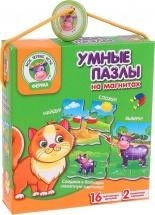 "Пазлы Vladi-Toys ""Ферма"" магнитные"