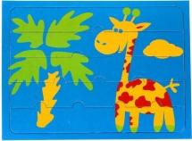 "Пазл-рамка ""Жирафик"""
