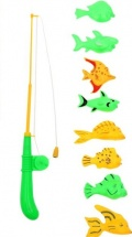"Рыбалка магнитная ""Ловись рыбка-3"""