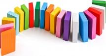 Плашки Цветные Томик 28 элементов