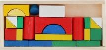 """Конструктор """"Строим город"""" 28 деталей 13×10×8 см"""
