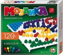 Мозаика 120 эл. 6 цветов 10 мм, Десятое королевство