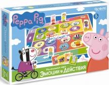 """Настольная игра Origami """"Peppa Pig. Эмоции и действия"""""""