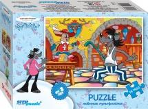 """Пазл Steppuzzle """"Союзмультфильм. Любимые мультфильмы"""" 54 элемента"""