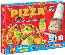 """Игра на магнитах Vladi Toys """"Маша и Медведь. Юный повар (Пицца)"""""""