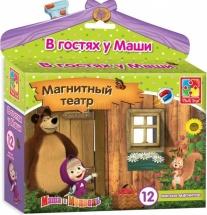 """Магнитный театр Vladi Toys """"Маша и Медведь. В гостях у Маши"""""""