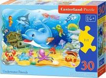 """Пазлы Castorland """"Подводные друзья"""" 30 элементов"""