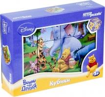 """Кубики Steppuzzle """"Disney. Винни-Пух"""" 12 элементов"""
