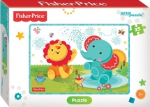 "Пазлы Steppuzzle ""Fisher Price (Mattel)"" 35 элементов"
