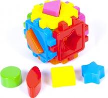 "Сортер Kinder Way ""Кубик малый с фигурами"""