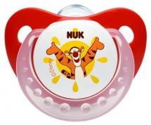 Пустышка Nuk Trendline Disney Тигруля силикон ортодонтическая с 6 до 18 мес