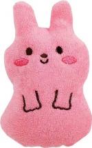 "Мочалка-спонж Kokubo Furocco Kids ""Кролик"" розовый"