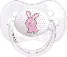 Пустышка Canpol babies Transparent силикон ортодонтическая с 6 до 18 мес