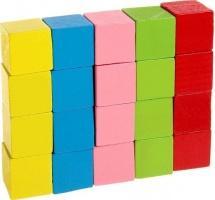 """Счетный материал """"20 кубиков"""" 2 см"""