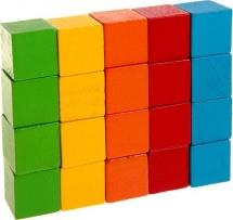 """Счетный материал """"20 кубиков"""" 2,5 см"""