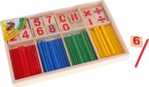 Счётные палочки и цифры 72 элемента