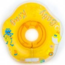 Круг на шею Baby Krug 3D желтый 6-18 кг