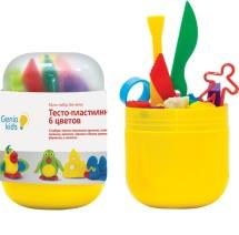 Набор для лепки Тесто-пластилин Genio Kids мини