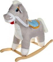 """Качалка Rudnix """"Лошадь"""" серый"""
