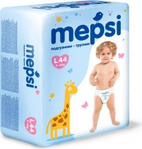 Трусики Mepsi L (9-16 кг) 44 шт