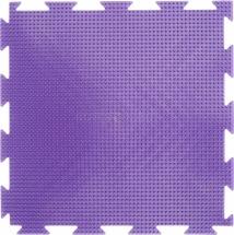 """Массажный коврик Орто """"Трава"""" мягкий 25x25 см, фиолетовый"""