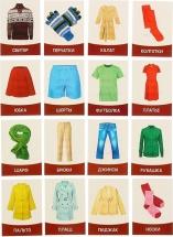 Обучающие карточки ЛасИграс Одежда 16 шт