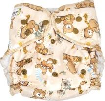 Многоразовый подгузник GlorYes для плавания (3-18 кг) медвежонок