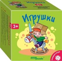 """Игра развивающая StepPuzzle """"Игрушки"""""""
