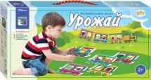 """Игра  Steppuzzle Baby Step """"Напольные паровозики. Урожай"""""""