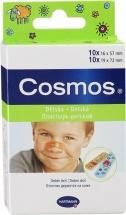 """Пластырь Hartman """"Cosmos kids"""" с рисунком 20 шт (2 размера)"""