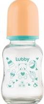 Бутылочка Lubby Малыши и Малышки стекло 120 мл