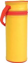 Термоконтейнер для бутылочки одинарный Курносики, желтый