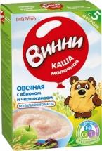 Каша Винни молочная овсяная с яблоком и черносливом с 5 мес 220 г