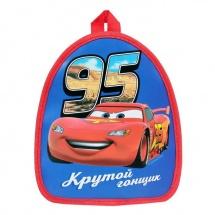 """Рюкзак детский Disney """"Крутой гонщик. Тачки"""" 21 х 25 см"""