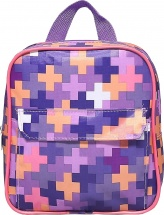 Рюкзак детский Сиреневые пиксели 22 х 23
