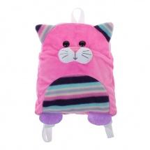 """Мягкая игрушка-рюкзак детская """"Котёнок"""" RKT01"""