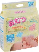 Подгузники Omutsu NB (до 5 кг) 90 шт
