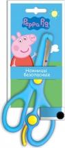 """Ножницы Росмэн """"Peppa Pig"""" пластиковые, голубой"""