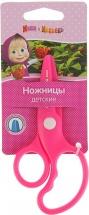 """Ножницы Росмэн """"Маша и Медведь"""" пластиковые, розовый"""