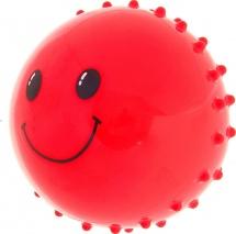 Мяч массажный Рожица d=10 см 35 гр