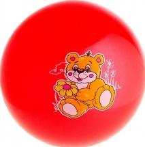 """Мяч детский """"Мишка"""" d=22 см 60 гр"""