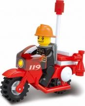 """Конструктор Sluban """"Пожарные спасатели. Мотоцикл"""" 25 дет"""
