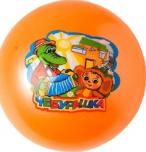 Мяч Играем Вместе Чебурашка 23 см