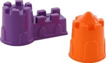 Формочки Полесье для песка (замок мост + замок башня) 2шт